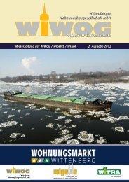 Mieterzeitung Dezember 2012 - WiWog