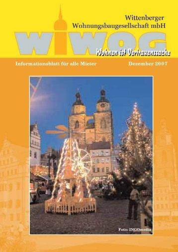 Mieterzeitung 2007 - WiWog
