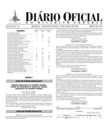 Seção01- 117.pdf - Governo do Distrito Federal