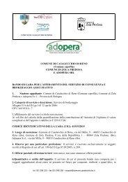 Bando Zola Adopera Casalecchio - Comune di Zola Predosa