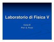 Lezione X.ppt.pdf - Dipartimento di Fisica