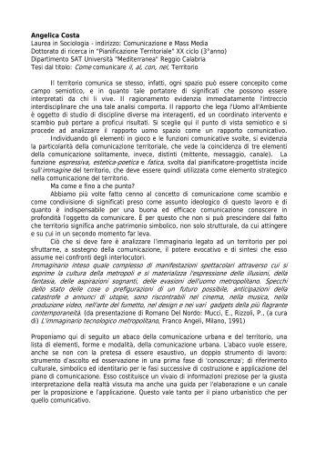 Angelica Co - Architettura e Urbanistica per l'Ingegneria