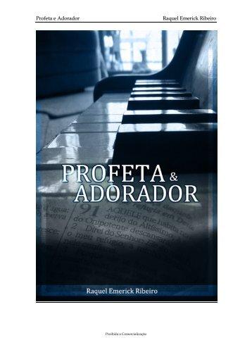 Profeta e Adorador Raquel Emerick Ribeiro - Ministério Além