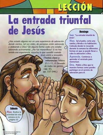 Leccion INTERMEDIARIOS 2013-02-07 - Escuela Sabática