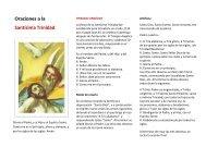 Oraciones a la Santísima Trinidad - Saint Josemaria Escriva