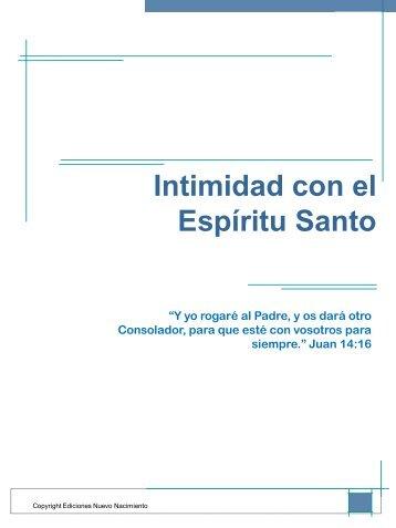 Intimidad con el Espíritu Santo - Iglesia Cristo Para Todos - Adrogue