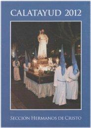 Semana Santa 2012 (PDF) - Turismo Calatayud