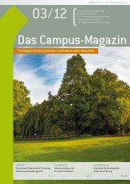 Campus Magazin 03/2012 - Campus Geisenheim