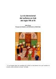 La vía devocional del sufismo en Irak del siglo VIII al IX