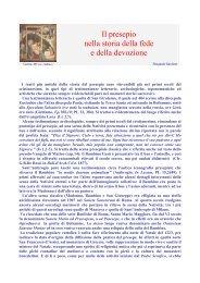 Il presepio nella storia della fede e della devozione - Associazione ...