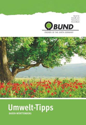 BUND Umwelt-Tipps Ulm/Biberach 2013