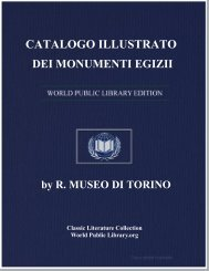 catalogo illustrato dei monumenti egizii - World eBook Library