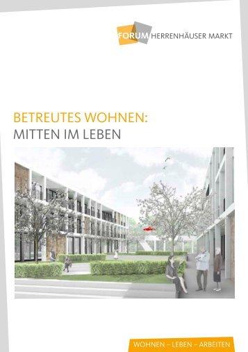 BETREuTEs WOHNEN - Wohnungsgenossenschaft Herrenhausen eG