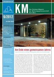 KM Magazin 6/2012 - Karl Marx