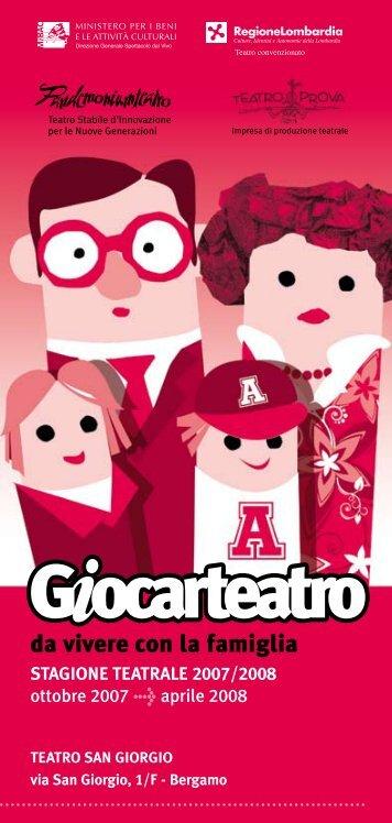 da vivere con la famiglia - Pandemonium Teatro