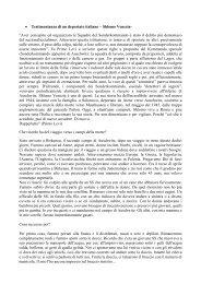 • Testimonianza di un deportato italiano – Shlomo Venezia ... - Pesenti