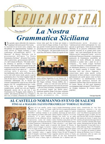 numero 6 2010 - EPUCANOSTRA.it