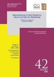 Pubblica - Agenzia Regionale di Sanità della Toscana