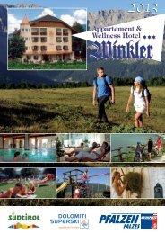Prospekt - Hotel Winkler