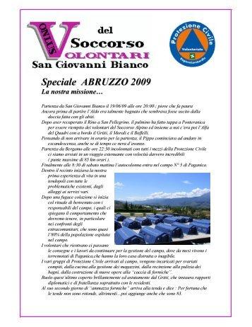 Speciale Abruzzo 2009 - Valle Brembana