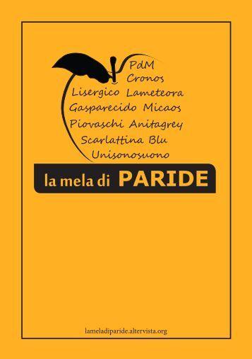 la mela di PARIDE - Paride - Altervista