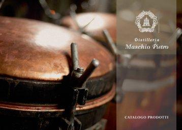 scarica il catalogo in pdf - distilleria maschio