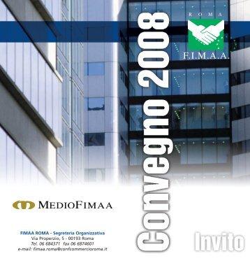 Convegno 18 aprile 2008 - Fimaaroma.It