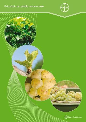 Priručnik za zaštitu vinove loze - Bayer CropScience Hrvatska