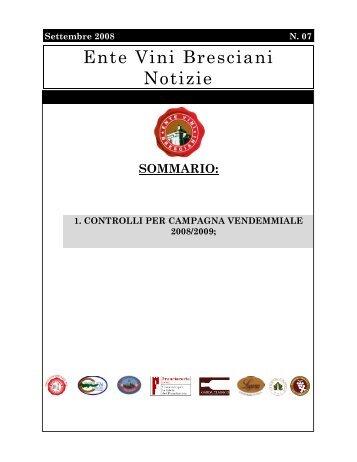 Ente Vini Bresciani Notizie