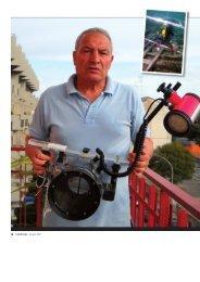 Fernando Zongolo, ispettore onorario di archeologia subacquea