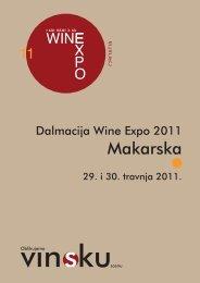 hvala vam! - Dalmacija Wine Expo 2013.