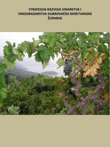 Strategija razvoja vinarstva i vinogradarstva Dubrovačko