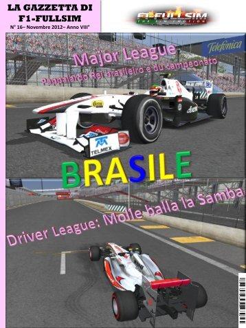 Novembre 2012, n° 16 - F1-FullSim
