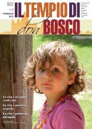 La vita è un sogno, realizzalo. La vita è mistero ... - Colle Don Bosco
