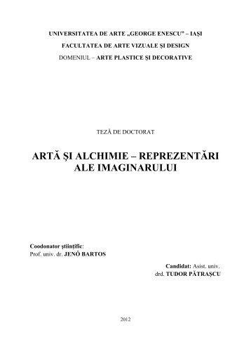 """română - Universitatea de Arte """"George Enescu"""""""