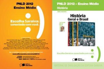 História Geral e Brasil - Editora Saraiva
