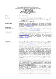 Regolamento Concorso Carovana - La Gazzetta dello Sport