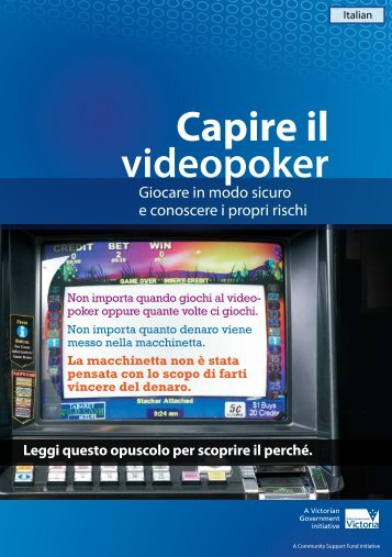 Capire il videopoker - Problem Gambling Professionals