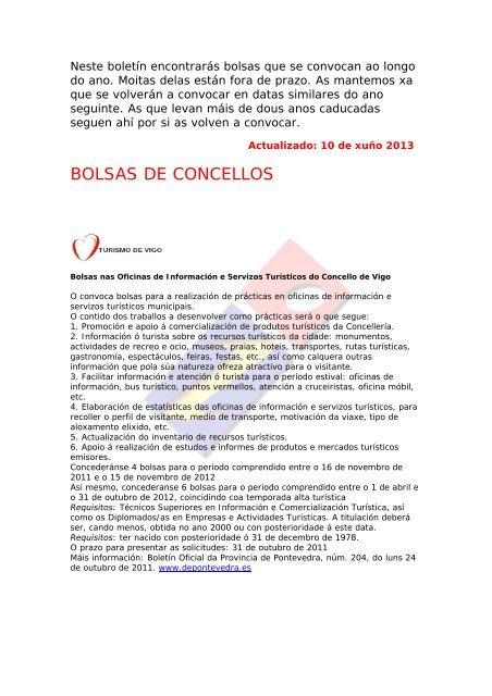 Entidades Convocantes Xuventude Net Xunta De Galicia