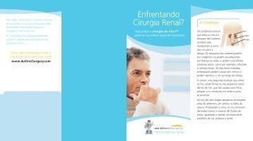 Enfrentando Cirurgia Renal?