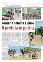Fontana domina e vince. Il profeta in pa (.Pdf 282 KB) - Avis