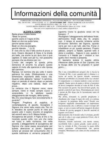 n. 37 - Parrocchia San Pietro Apostolo - Favaro Veneto