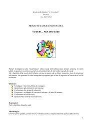 Progetto di Logico Matematica - istituto cesare arici