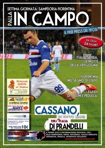 Fiorentina - Sampdoria News
