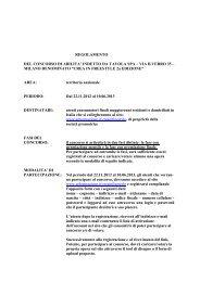 REGOLAMENTO DEL CONCORSO DI ABILITA ... - Arbre Magique