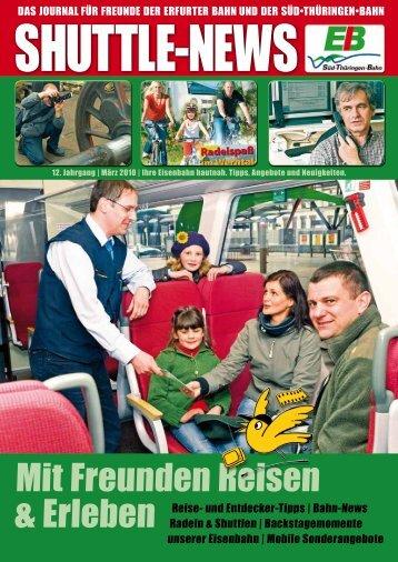 Mit Freunden Reisen - Erfurter Bahn GmbH