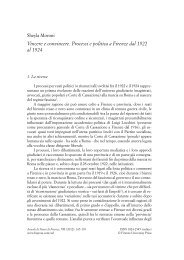 Vincere e convincere. Processi e politica a ... - Storia di Firenze