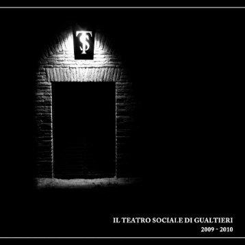 Il Teatro Sociale Gualtieri. 2009/2010