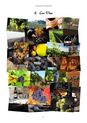 Télécharger le catalogue des Vins - Vita Impex