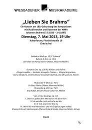 """""""Lieben Sie Brahms"""""""